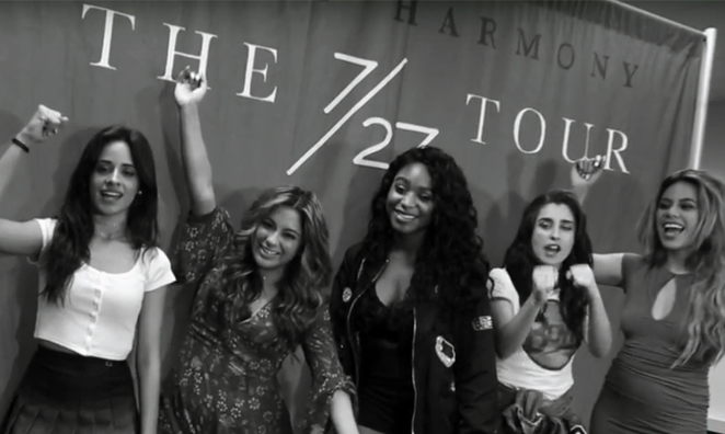 Exclusive Photos & Video: Fifth Harmony 7/27 Tour at Dunkin' Donuts Center