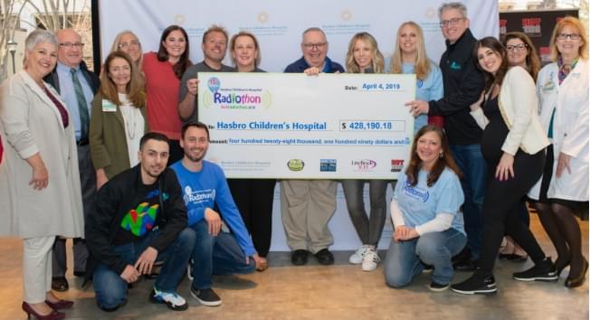 15th Annual Radiothon Raises Over $425,000 for Hasbro Children's Hospital