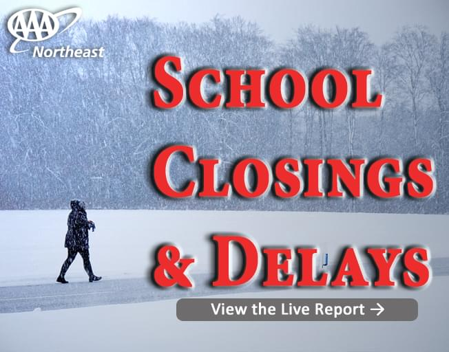 Real Time School, Business Closings, Parking Bans, Weather Alerts for Rhode Island and Massachusetts