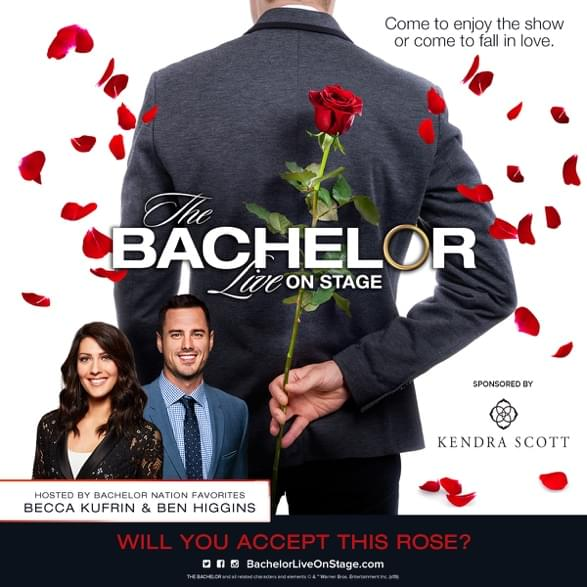 Ben Higgins Talks The Bachelor Live on Stage