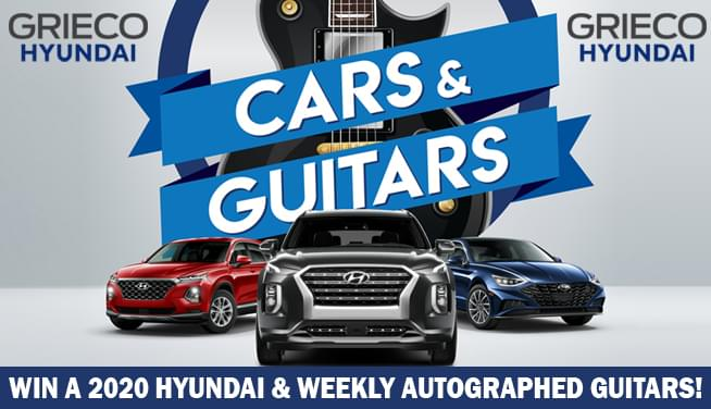 GRIECO Hyundai Presents…Cars & Guitars!