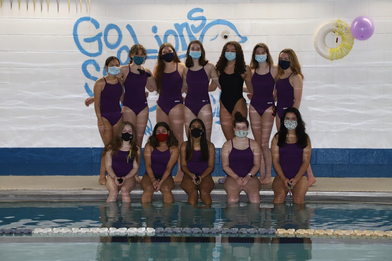Classical High School Girls Swim Team