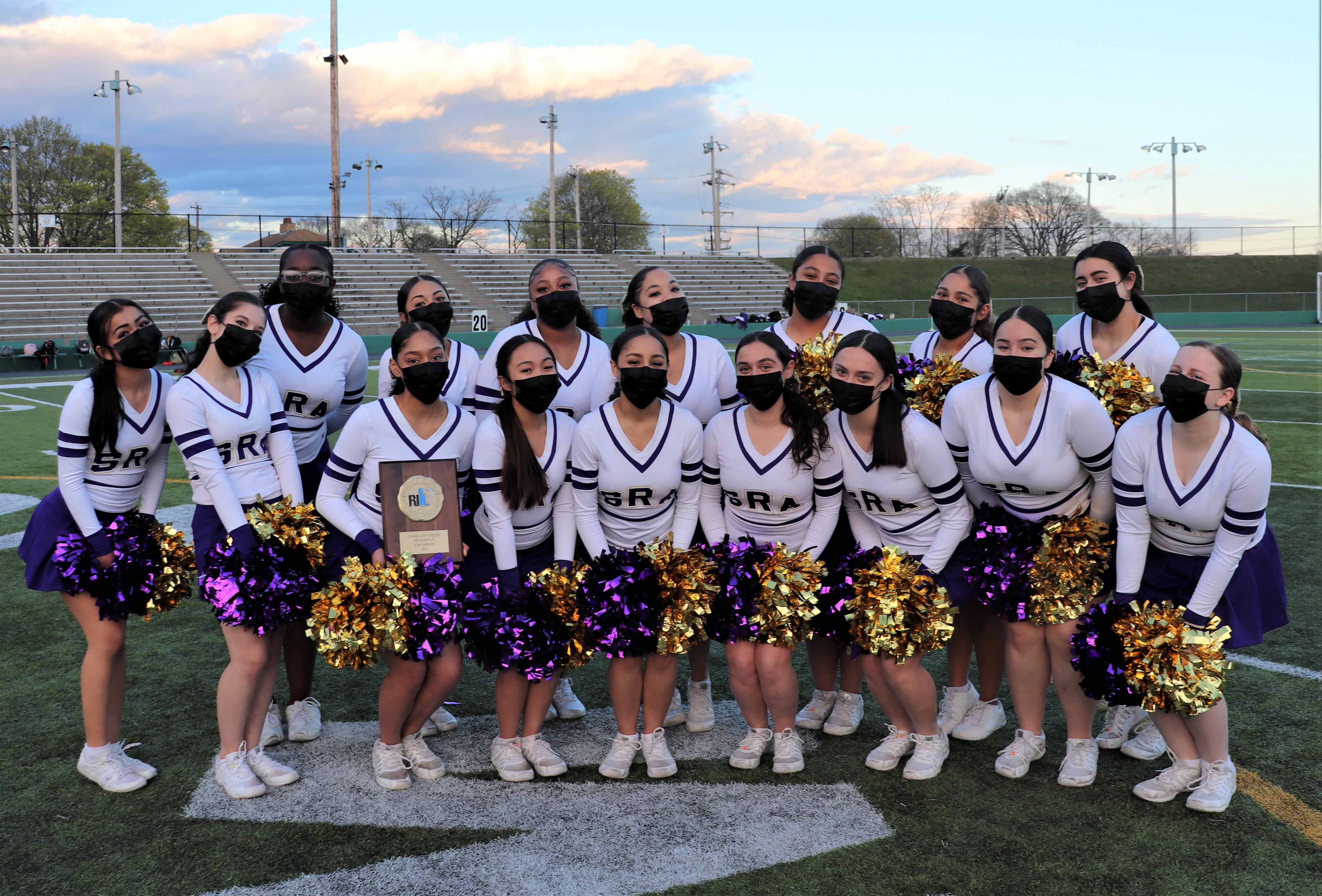 St. Raphael Academy Cheerleading Team