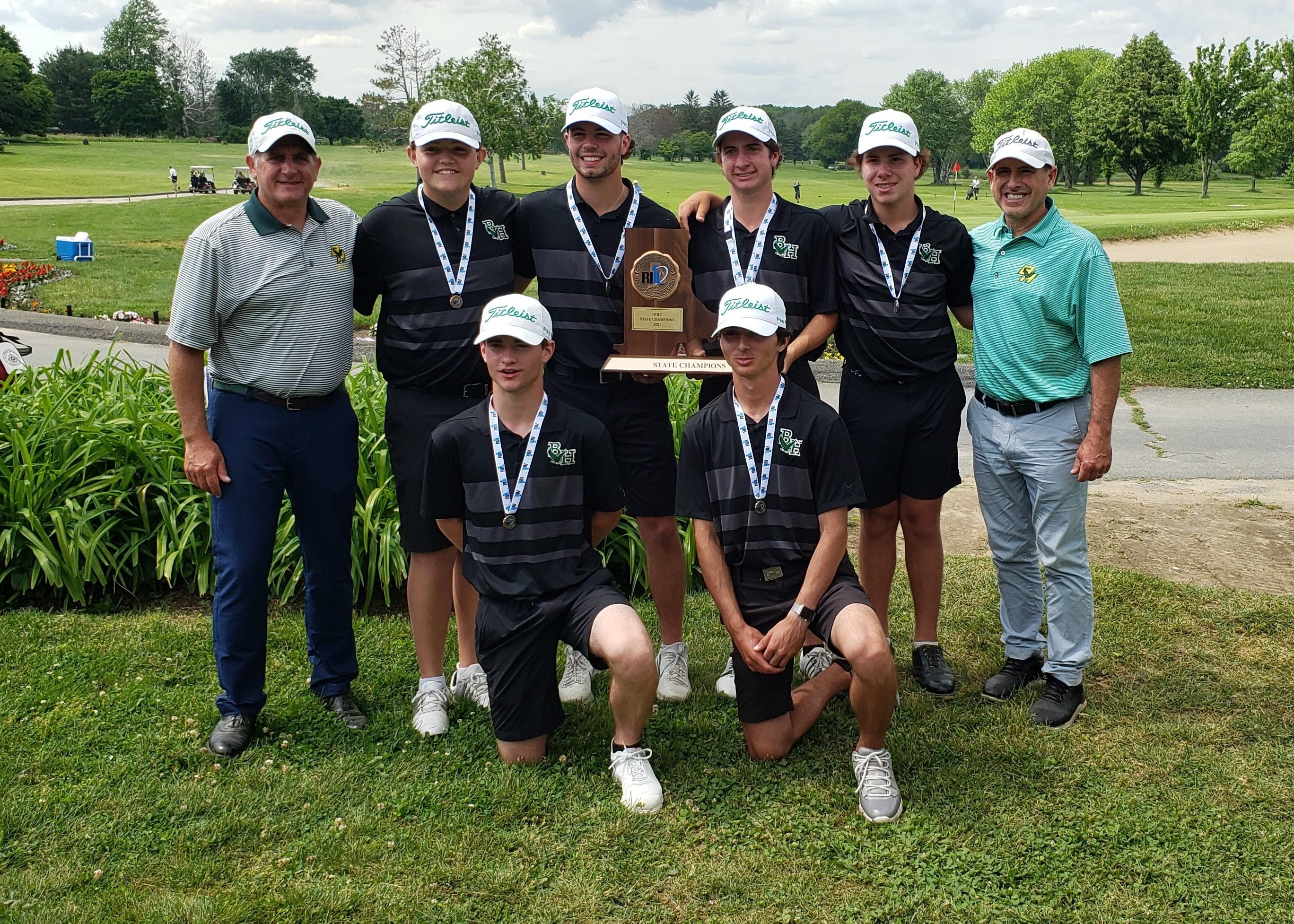 Bishop Hendricken Golf Team