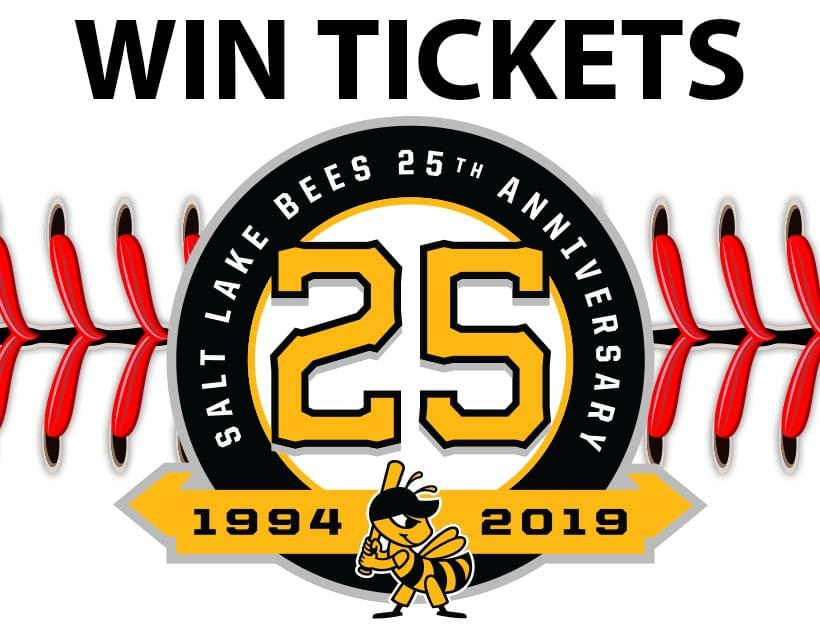 Win Tix to the Salt Lake Bees vs. Albuquerque Isotopes on Saturday April 27th at 6:35P at Smiths Ball Park