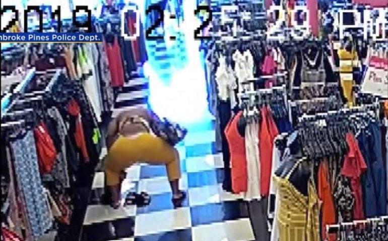 Woman Uses Twerking As A Shoplifting Distraction & Man Calls 911 To Brag About Running From Police