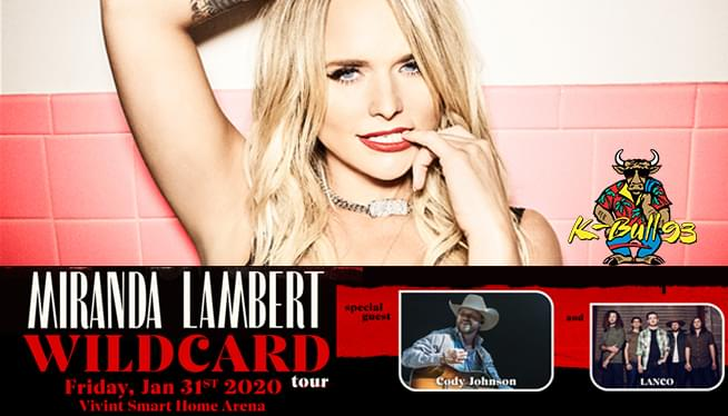 Miranda Lambert Wildcard Tour 2020