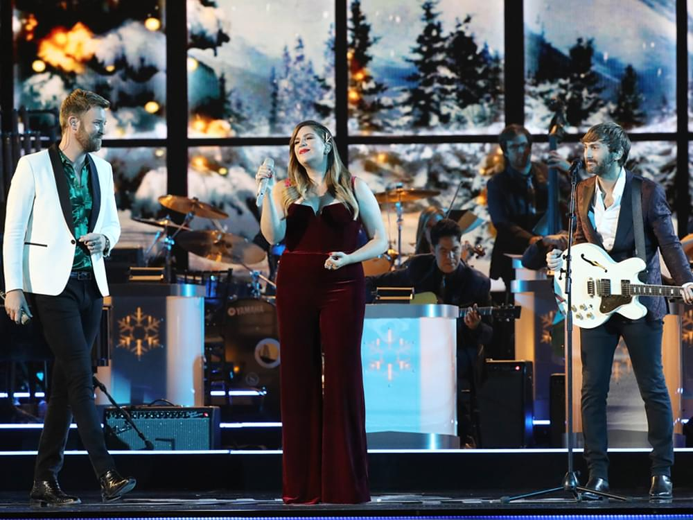 "Watch Lady Antebellum's Dreamy Rendition of ""White Christmas"" at ""CMA Country Christmas"" TV Special"