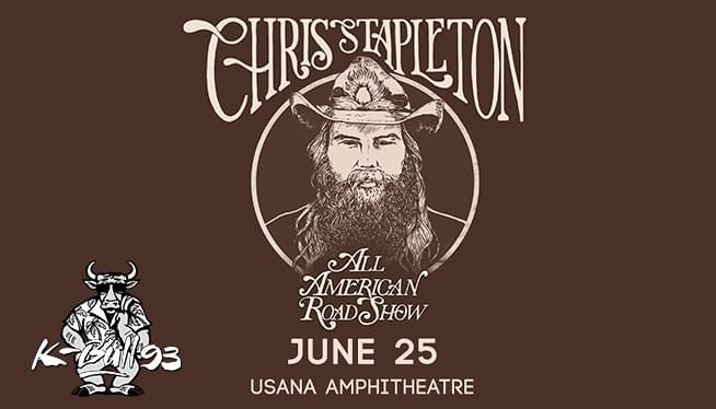 Chris Stapleton June 25th – USANA Amphithetre