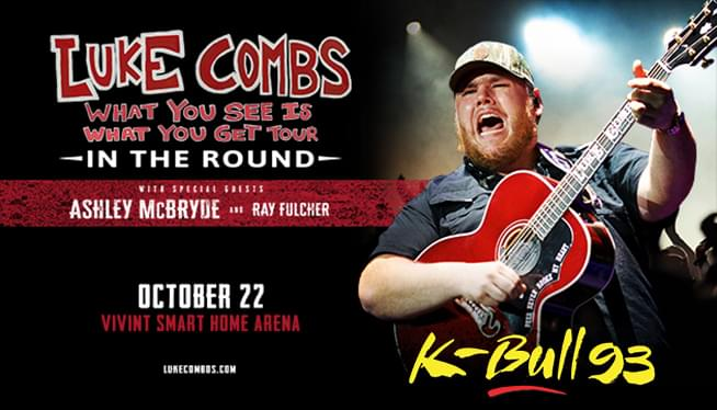 Luke Combs What you see is what you get Tour