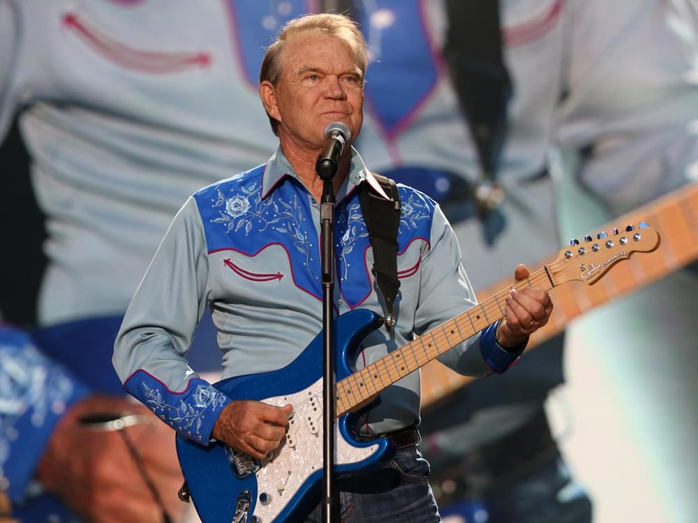 "Glen Campbell's ""Wichita Lineman"" & Eddy Arnold's ""Make the World Go Away"" Earn Historic Honor"