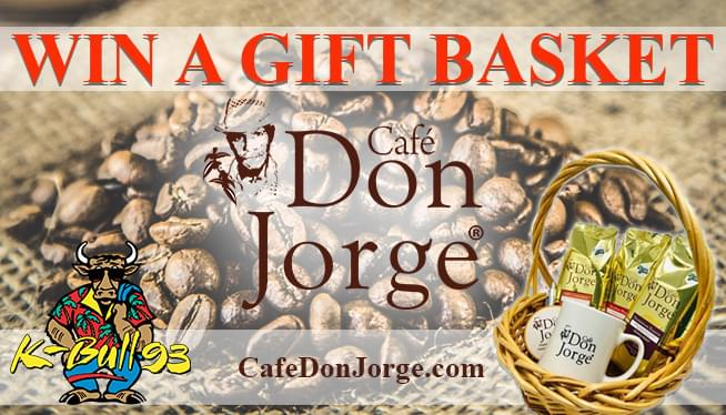 Win a Gift Basket from Cafe Don Jorge