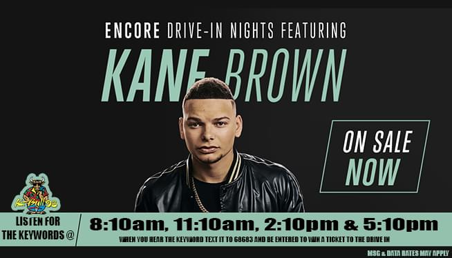Kane Brown at the Drive In