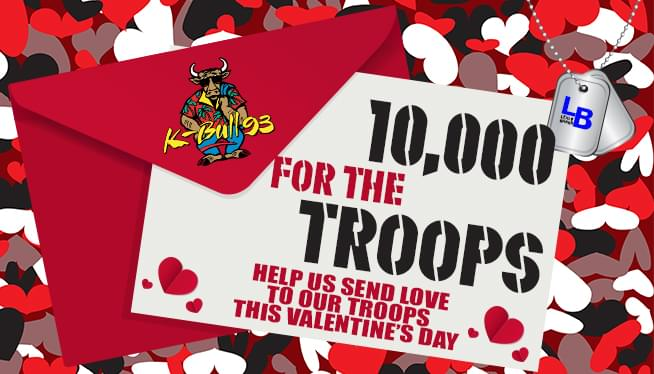K-Bull 93's 10,000 for the Troops