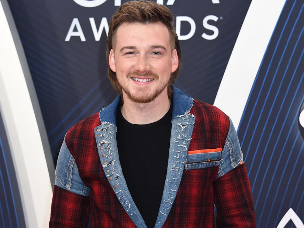"Morgan Wallen Scores 2nd No. 1 Single With ""Whiskey Glasses"""