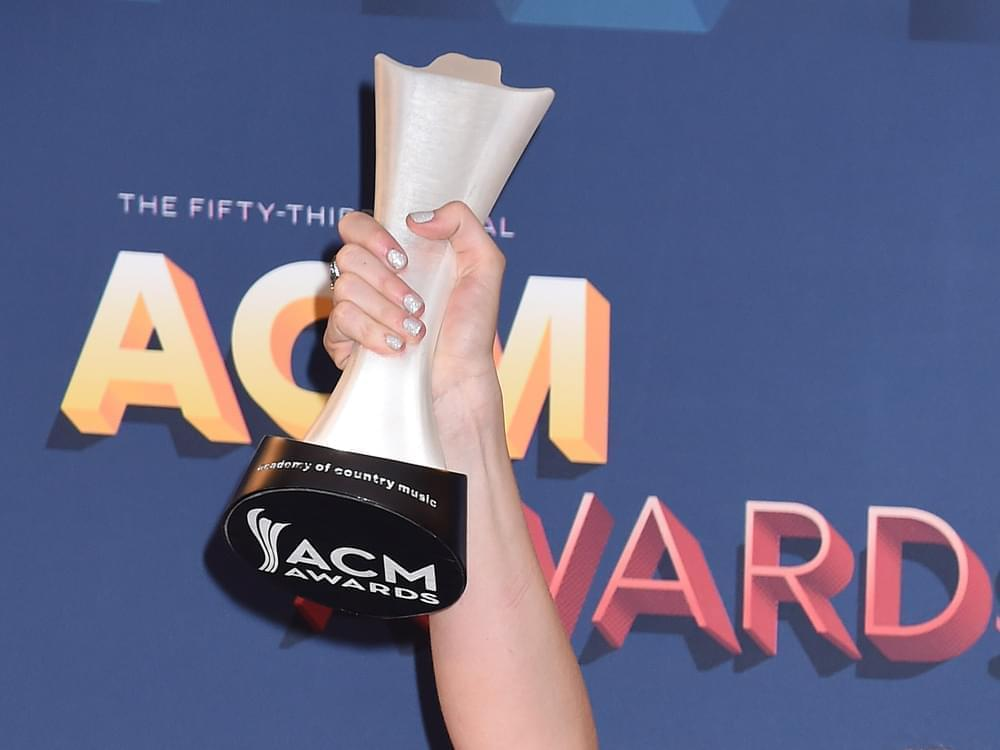 55th ACM Awards to Air Live From Nashville on Sept. 16