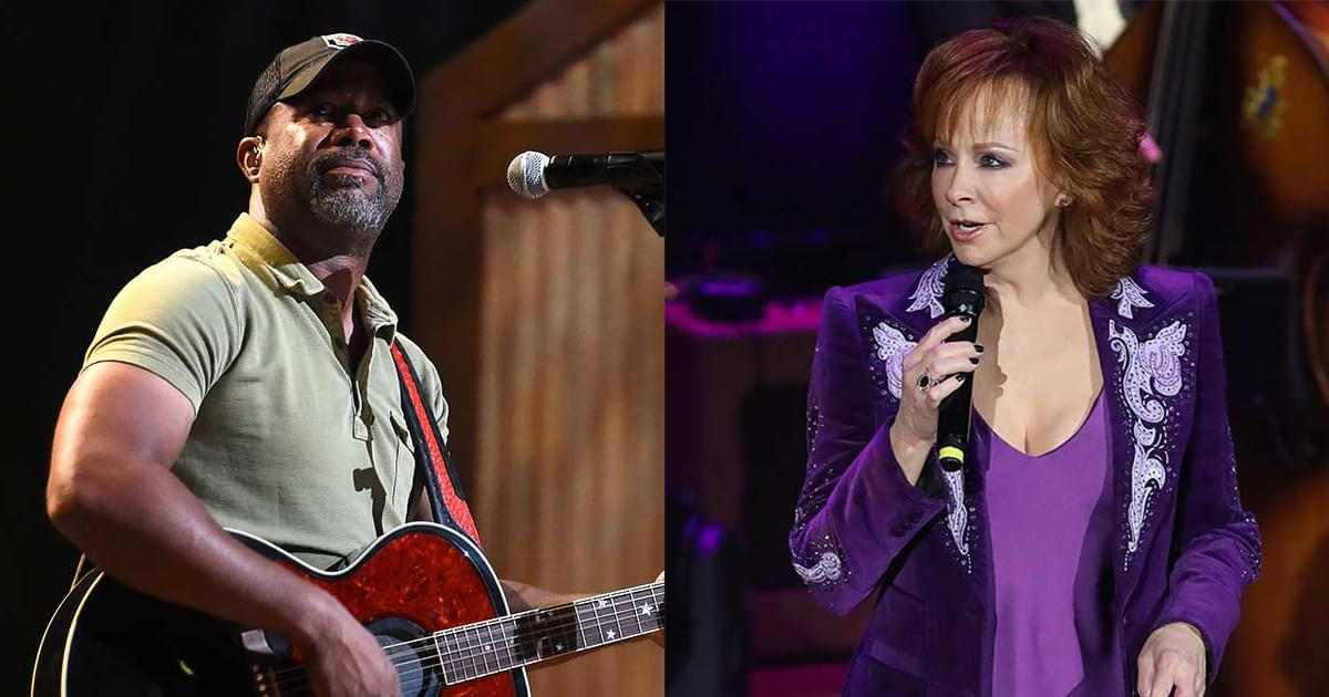 "Reba McEntire & Darius Rucker Release New Rendition of ""In the Ghetto"" [Listen]"