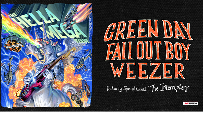 CONCERT: Green Day, Fall Out Boy, & Weezer ~ August 19, 2020