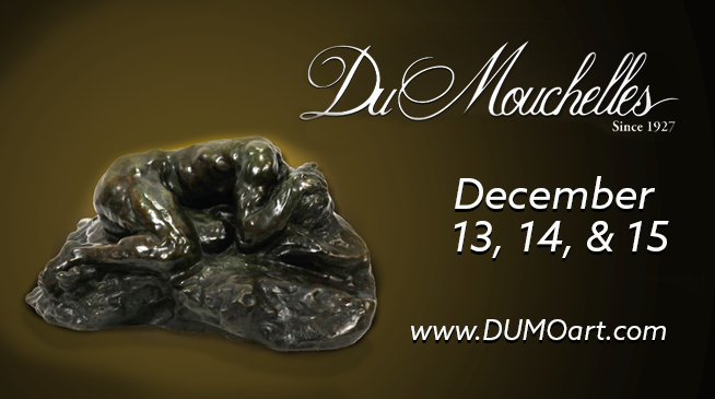 DuMouchelles, Auction at the Gallery – December 13 through December 15