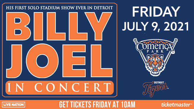 Billy Joel ~ RESCHEDULED to July 9, 2021
