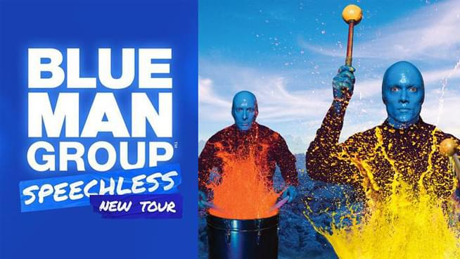 Blue Man Group ~ April 7-12, 2020
