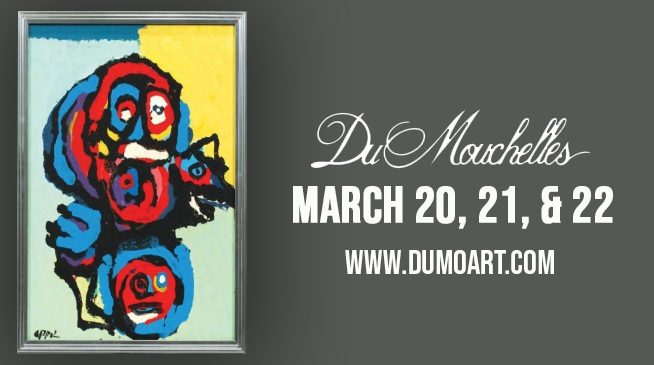 DuMouchelles, Auction at the Gallery ~ March 20, 21, & 22