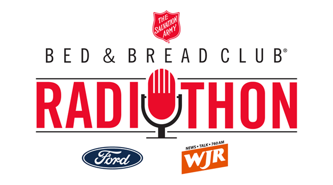 The Salvation Army 24-Hour Bed & Bread Club Radiothon ~ February 27 – 28