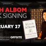 Mitch Albom Book Signing Recap