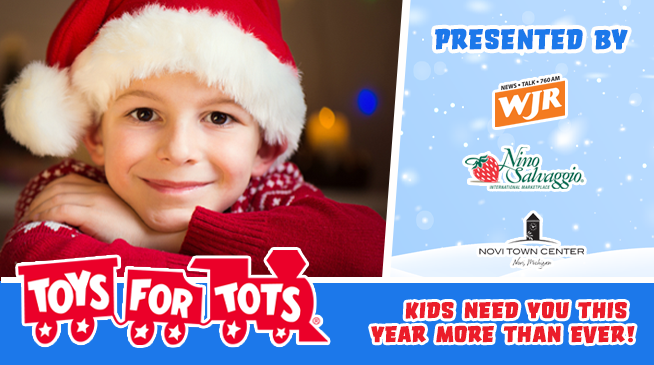 Toys For Tots ~ Drop Off Weekend ~ December 5 – 6