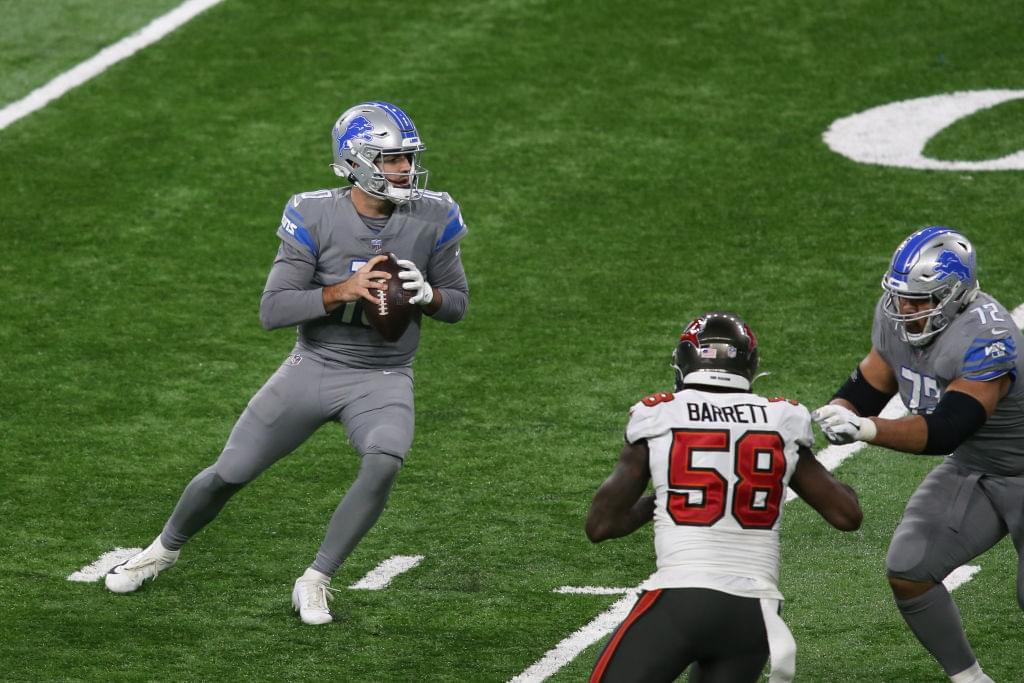 NFL: DEC 26 Buccaneers at Lions