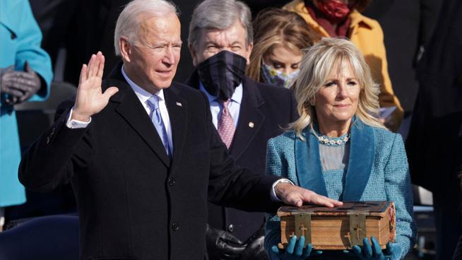 Biden Inaugurated as The 46th U.S. President