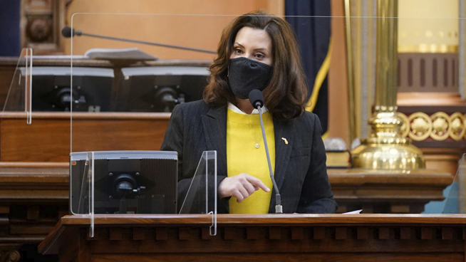 """State of The State:  Whitmer Pledges to """"Fix The Damn Road Ahead"""""""