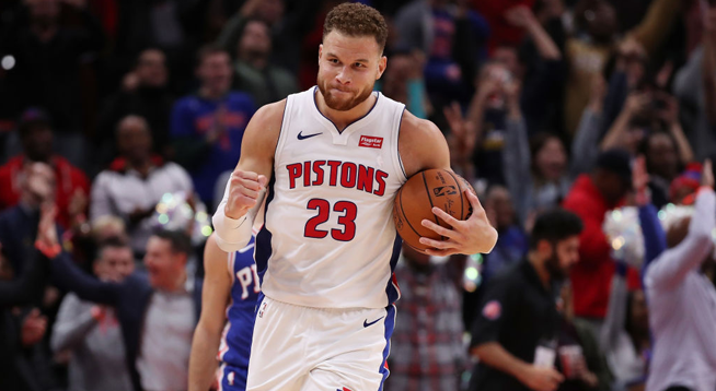 Detroit Pistons and Blake Griffin Agree to Keep Griffin Out of Lineup