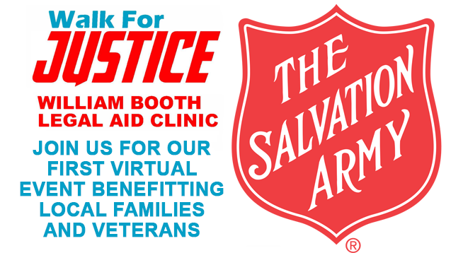 Salvation Army of Michigan Walk For Justice ~ May 7-9, 2021