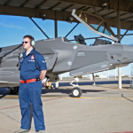 Air Force Passes Over Selfridge Air Base as New F-35 Training Location
