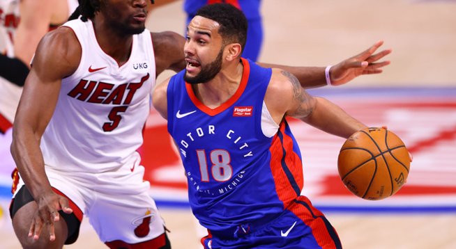 Detroit Pistons Get First Overall Pick in NBA Draft Lottery