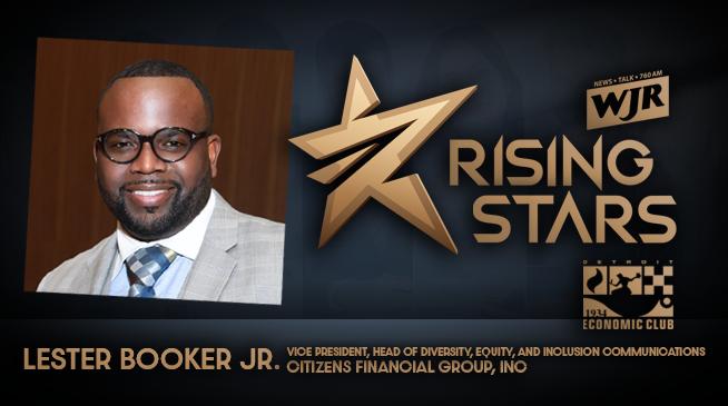 WJR RISING STARS | LESTER BOOKER JR.