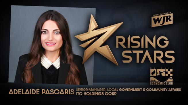 WJR RISING STARS | ADELAIDE PASCARIS