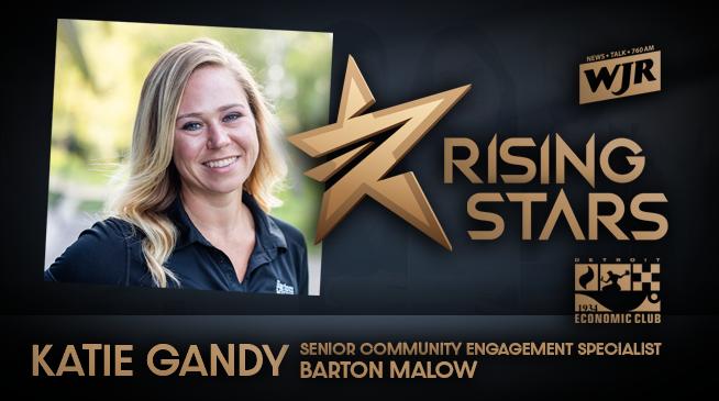 WJR RISING STARS | KATIE GANDY