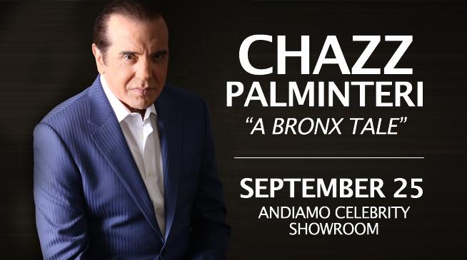 "CHAZZ PALMINTERI in ""A BRONX TALE"" ~ SEPTEMBER 25, 2021"