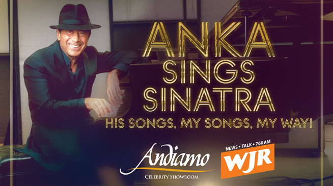 "PAUL ANKA ""ANKA SINGS SINATRA"" TOUR ~ NOVEMBER 4, 2021"