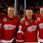 Detroit Red Wings Grind Line Inducted as Michigan Treasures by Michigan Sports Hall of Fame