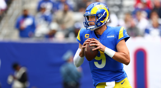 Matthew Stafford Leads Rams to a Win Against Goff's Lions