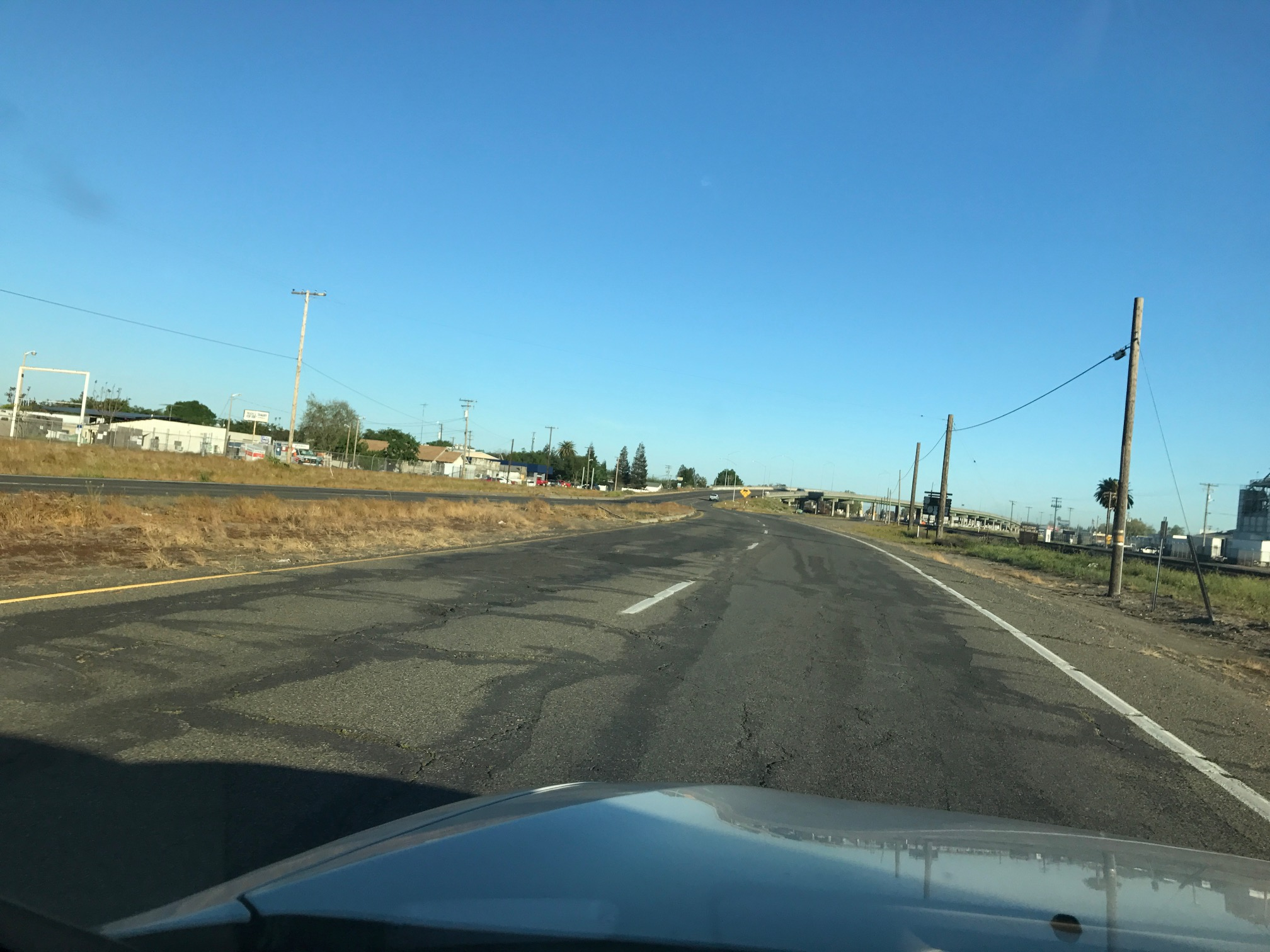 Since We're Going To Pay Higher Gas Taxes Now Can CalTrans Fix Golden State Blvd. In Turlock First Please?