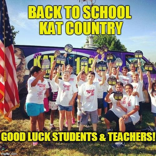 BACK TO SCHOOL IN KAT COUNTRY 103