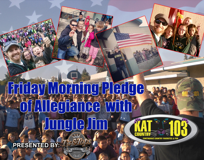 Friday Pledge in Modesto!
