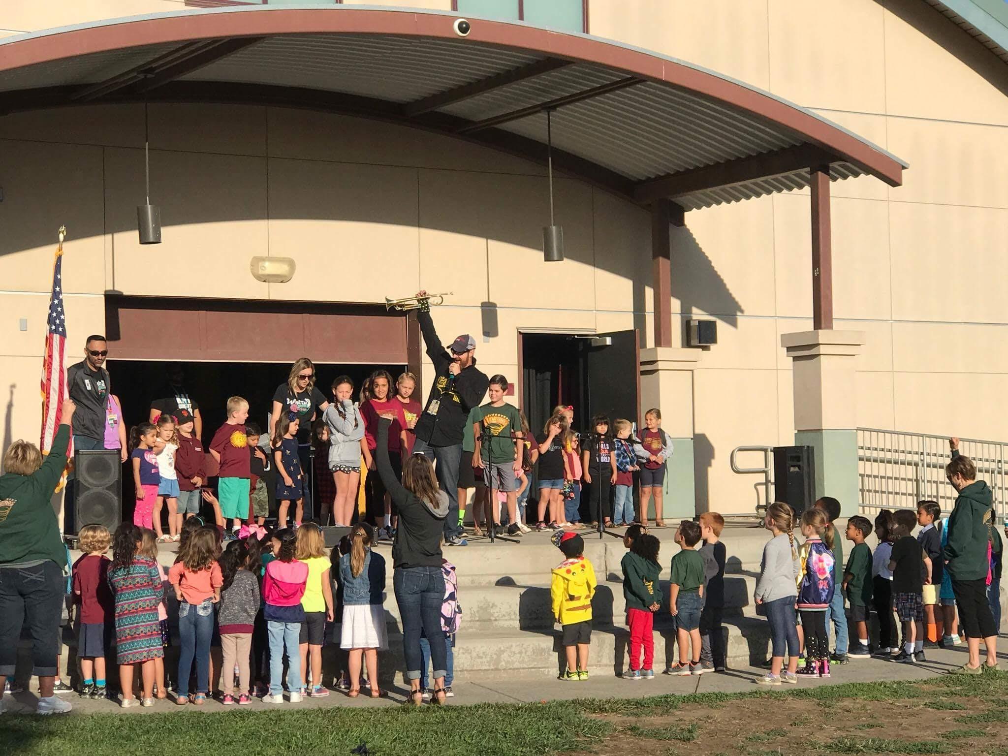 Walnut Elementary Pledge of Allegiance