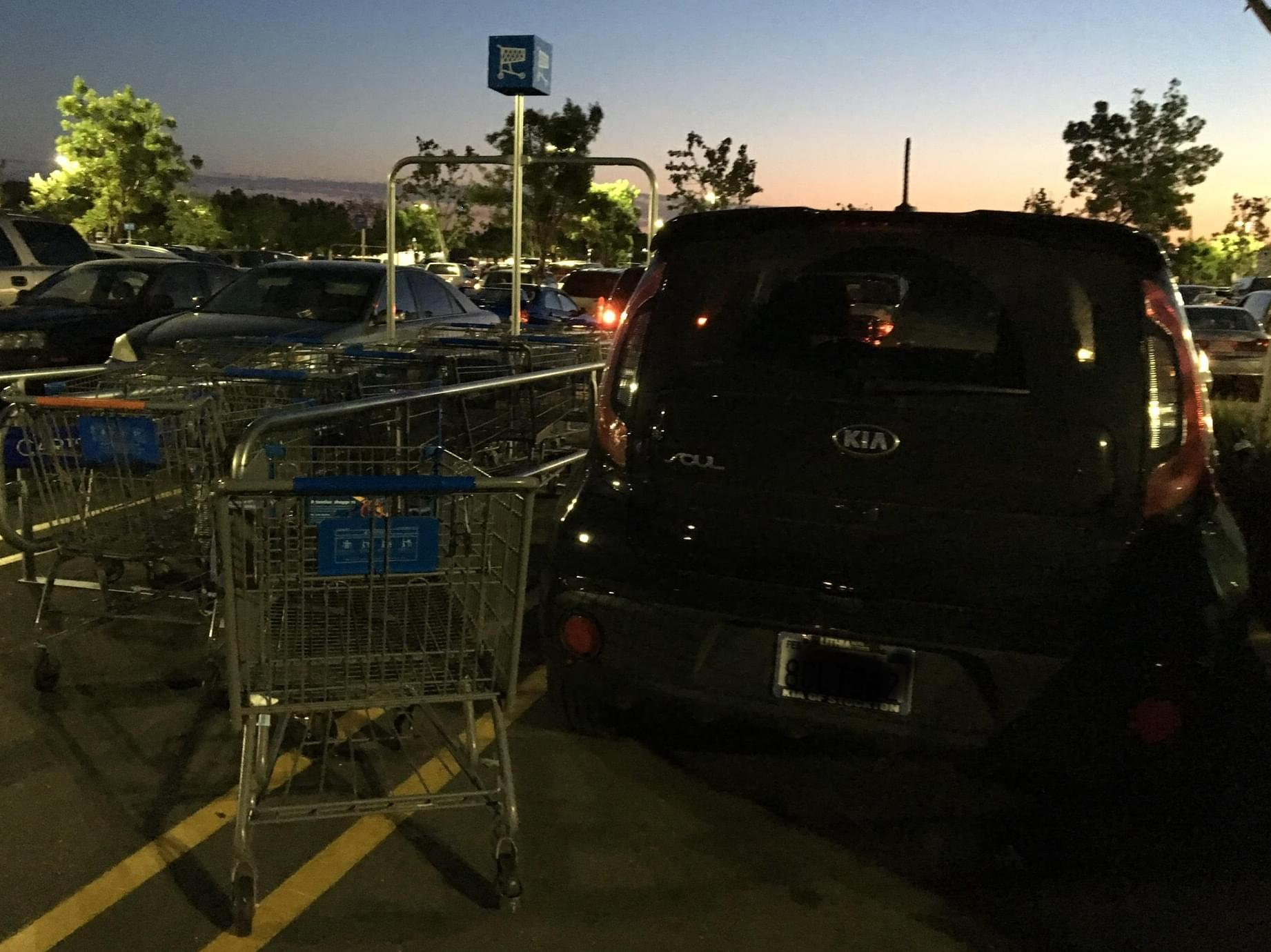Do You Return Your Shopping Cart to the Cart Corral