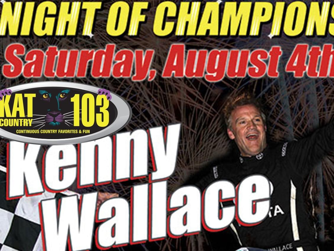 Kenny Wallace Talks about Racing At Stockton 99 Speedway!