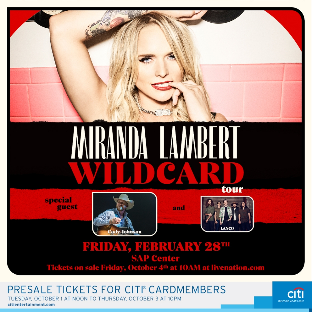 Miranda Lambert is coming to Kat Country